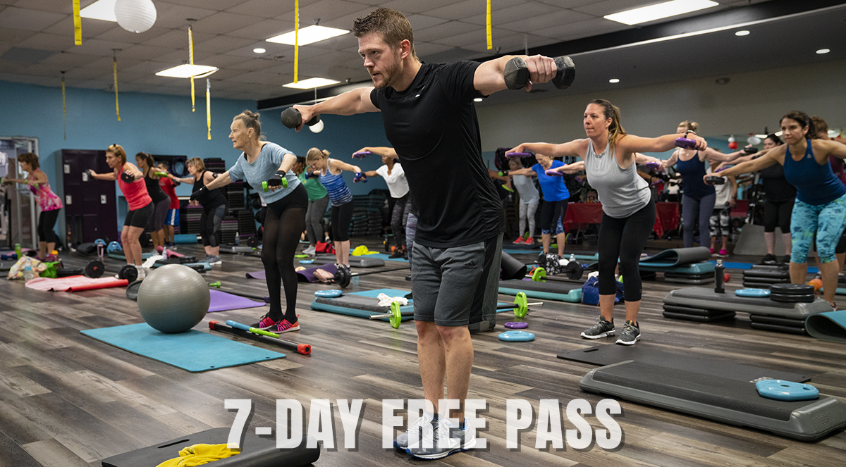 7-Day Free Trial Gym Pass