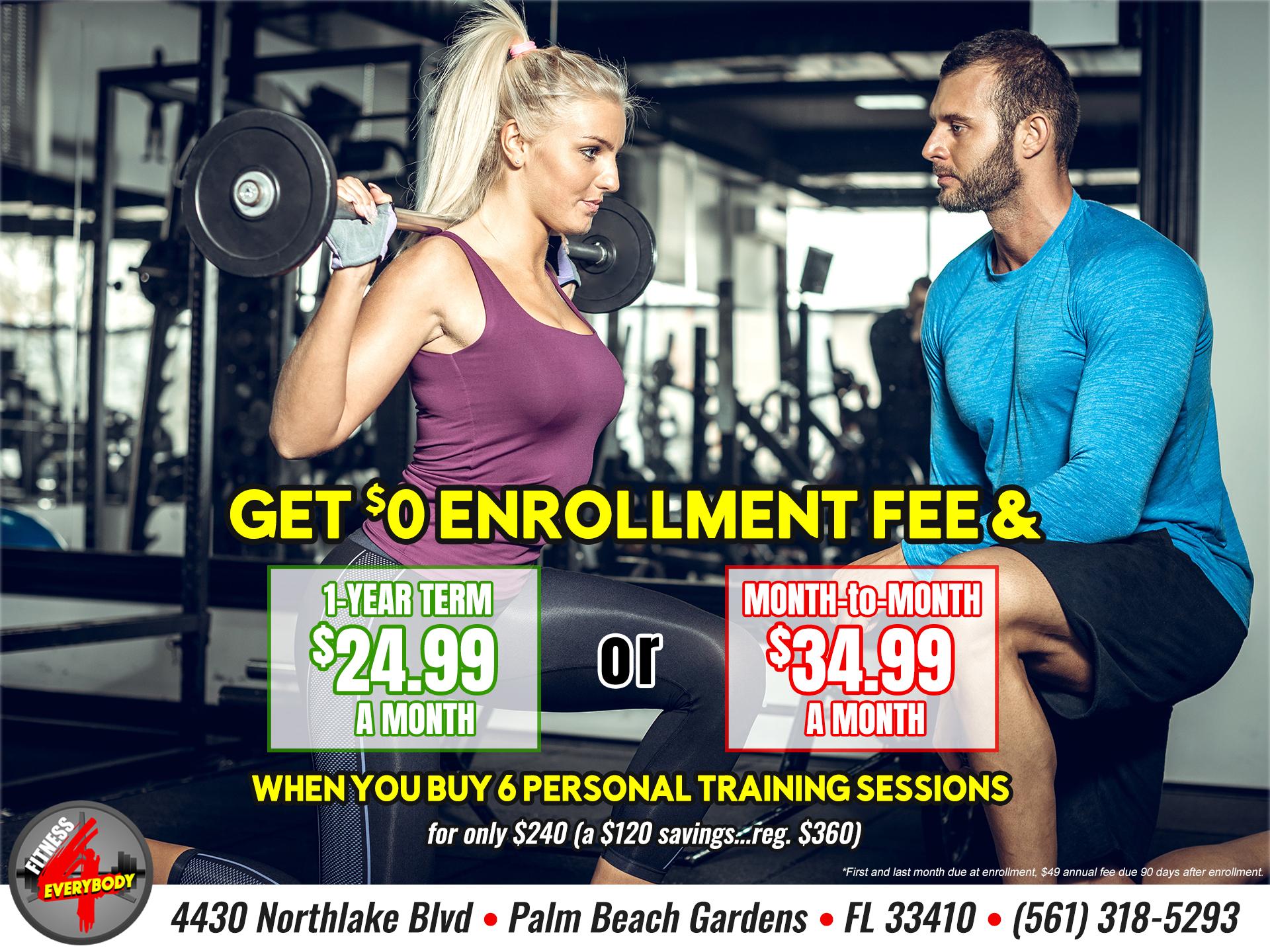 Membership & Personal Training Specials